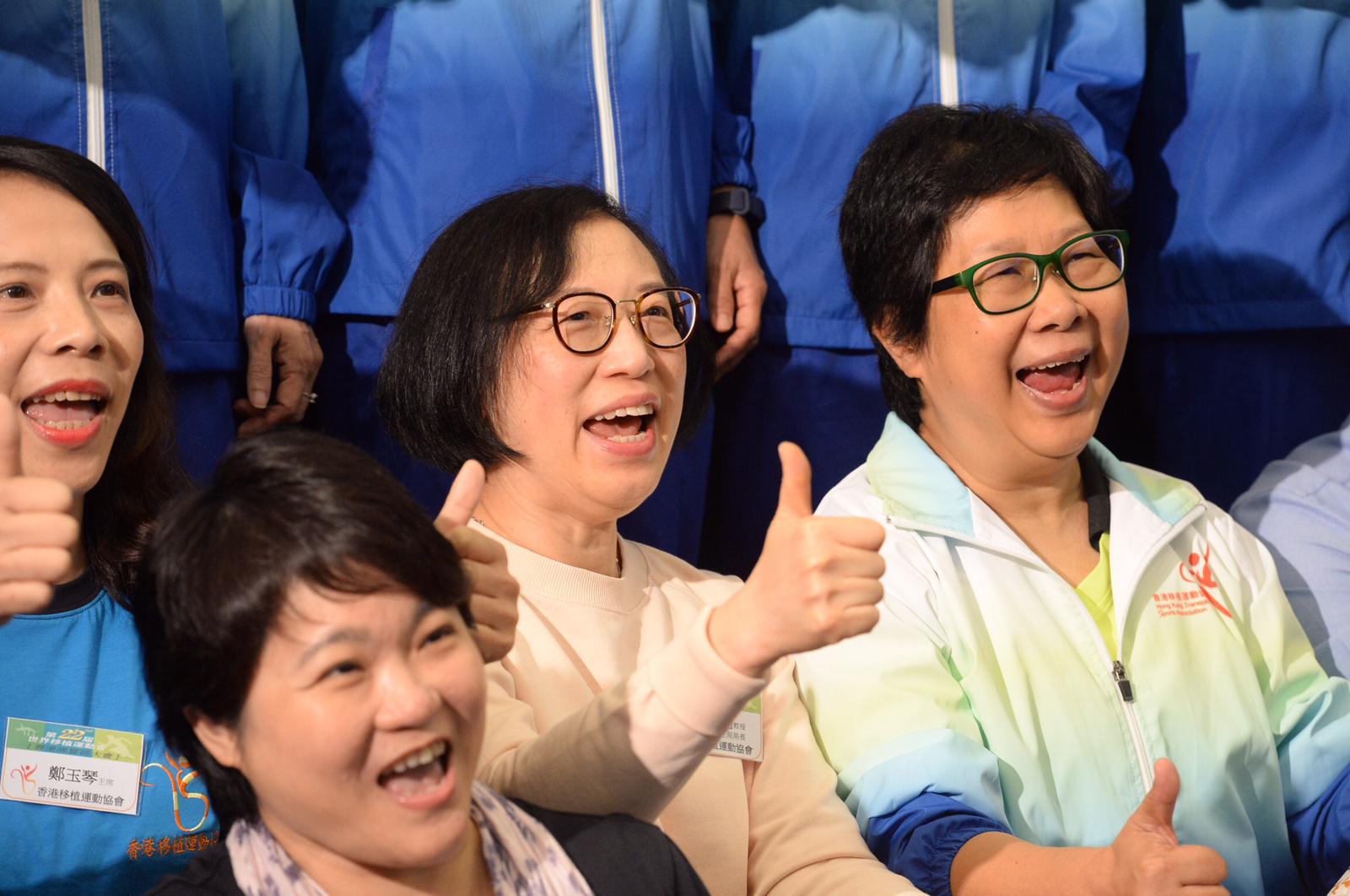 陳肇始出席誓師大會。