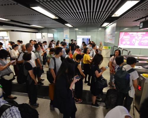 【8.5三罷】港鐵全線服務中午過後陸續復常