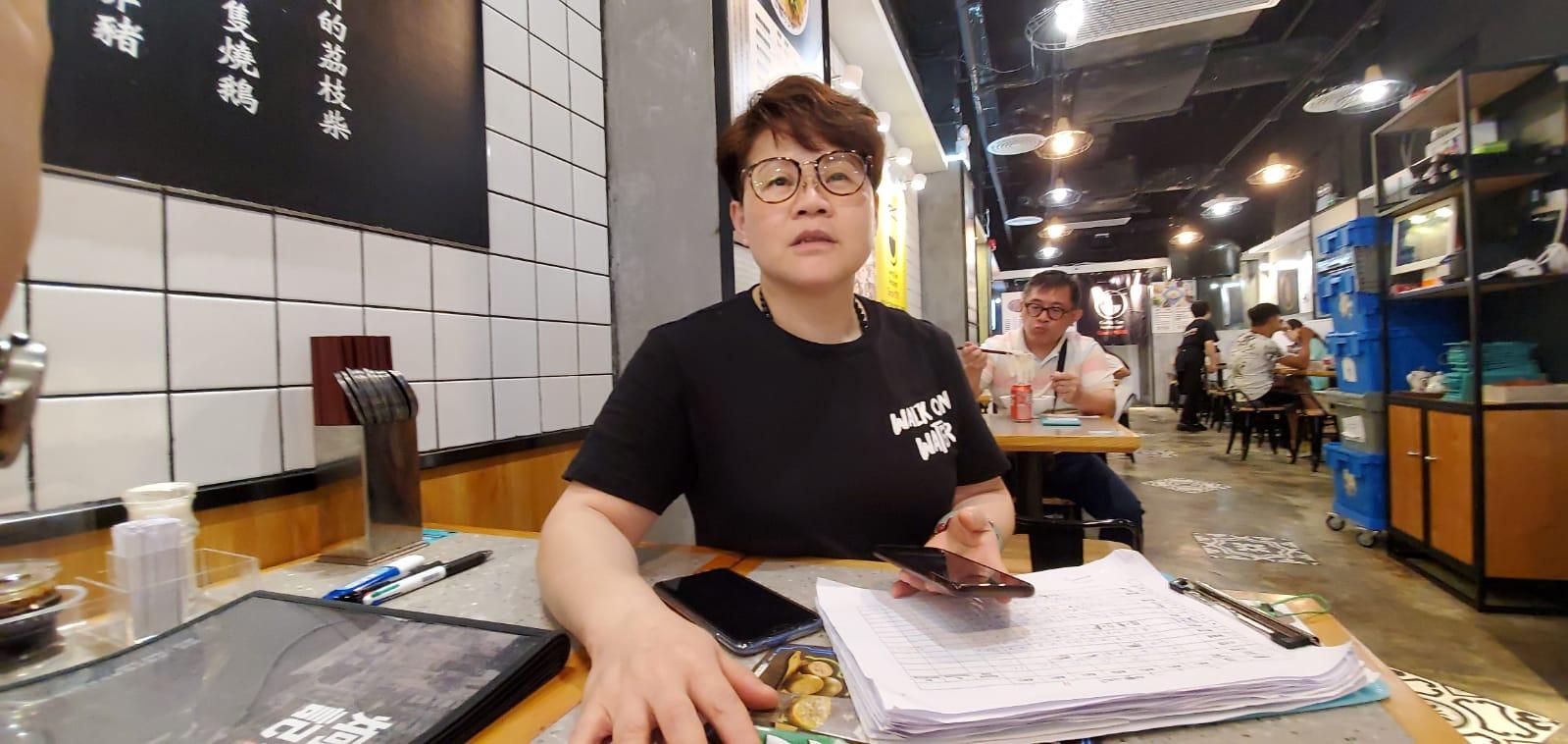 食肆負責人沈小姐,暫時繼續做生意。