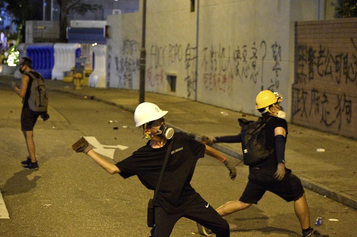 香港總商會譴責街頭暴力 。資料圖片