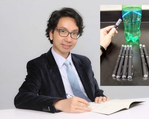 【Kelly Online】擁半打「激光指示筆」好合理 湯博士:向學生示範幾何光學