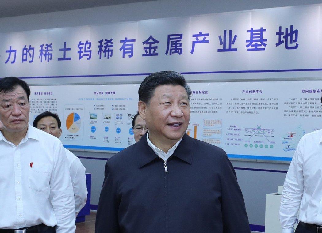 在中美貿易戰上,中國稀土協會支持國家對美反制措施。網圖