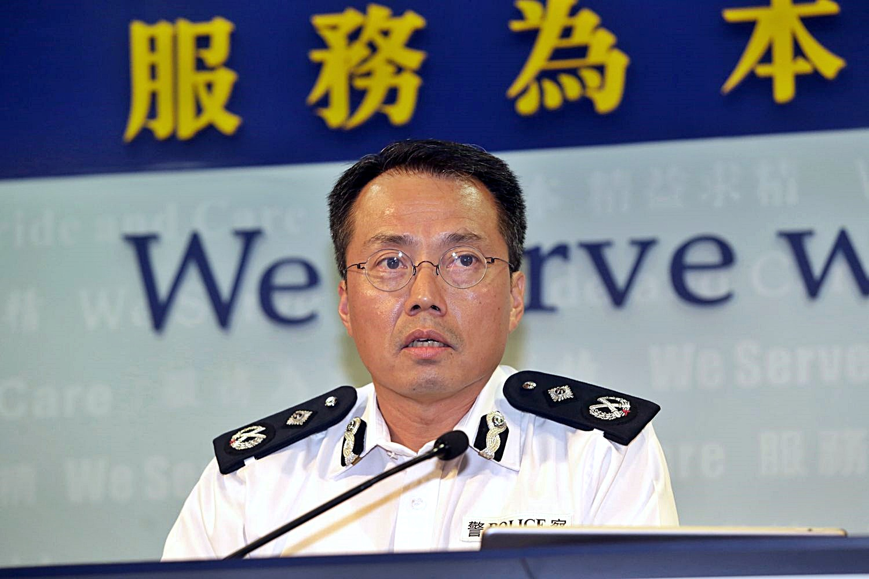 劉業成重返警隊。資料圖片