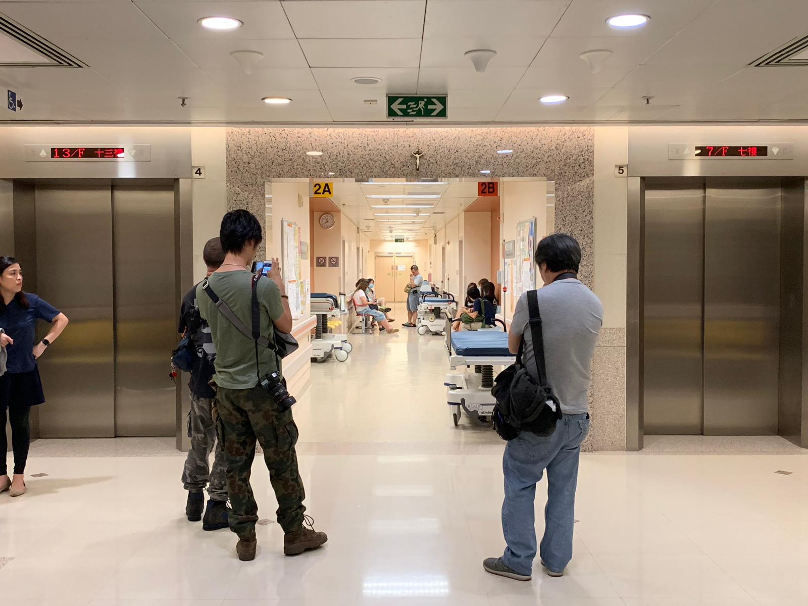 方仲賢仍在明愛醫院接受治療。