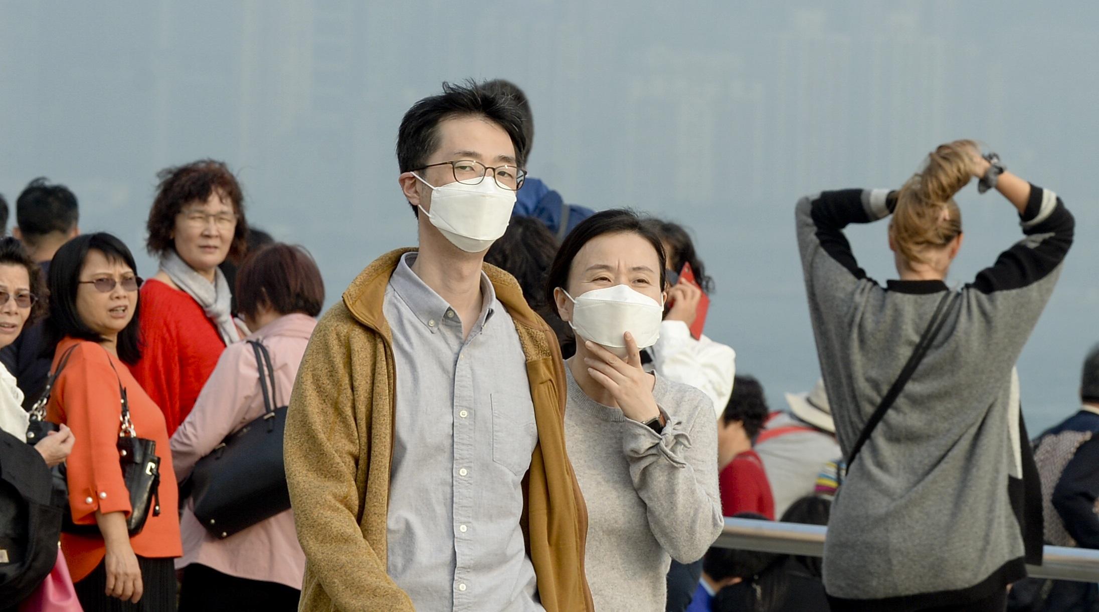 本港空氣質素惡化。資料圖片