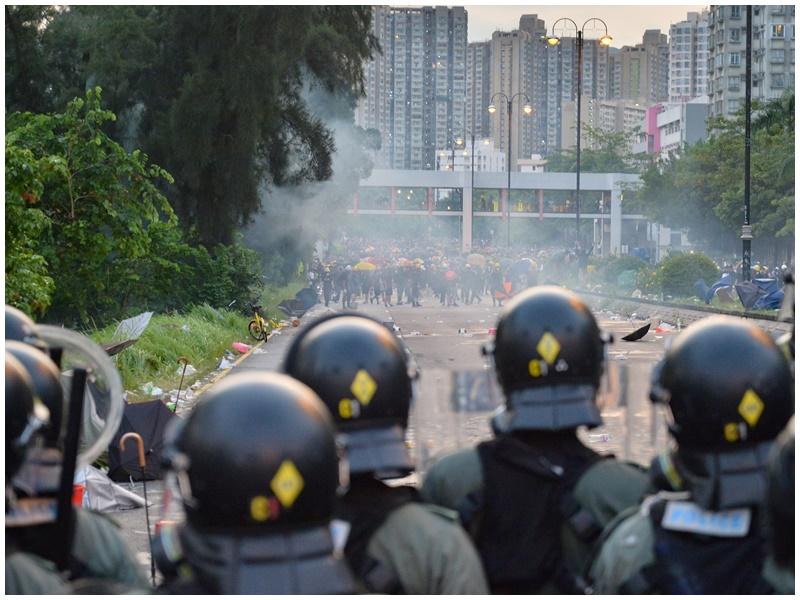 陳凱興不同意警方基於5日衝突便反對遊行。資料圖片