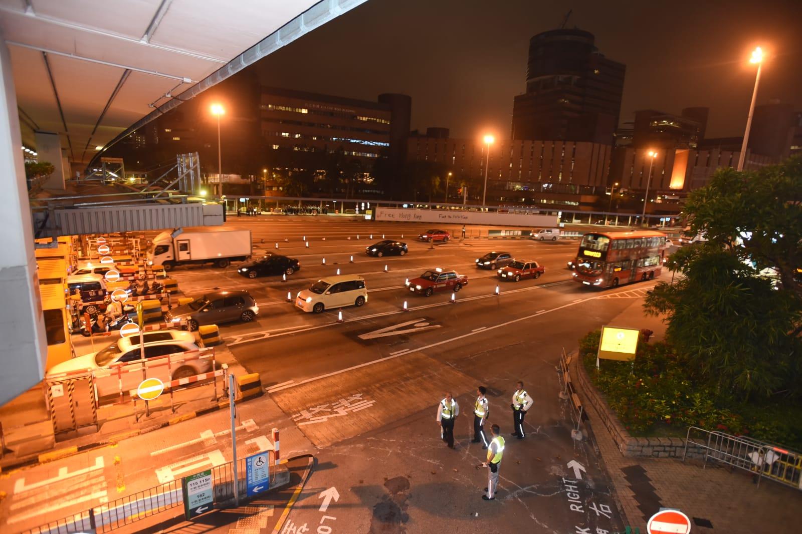 紅隧交通恢復正常