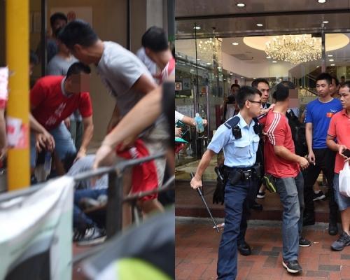 【逃犯條例】北角紅衣人涉追打市民 警拘一紅衣男