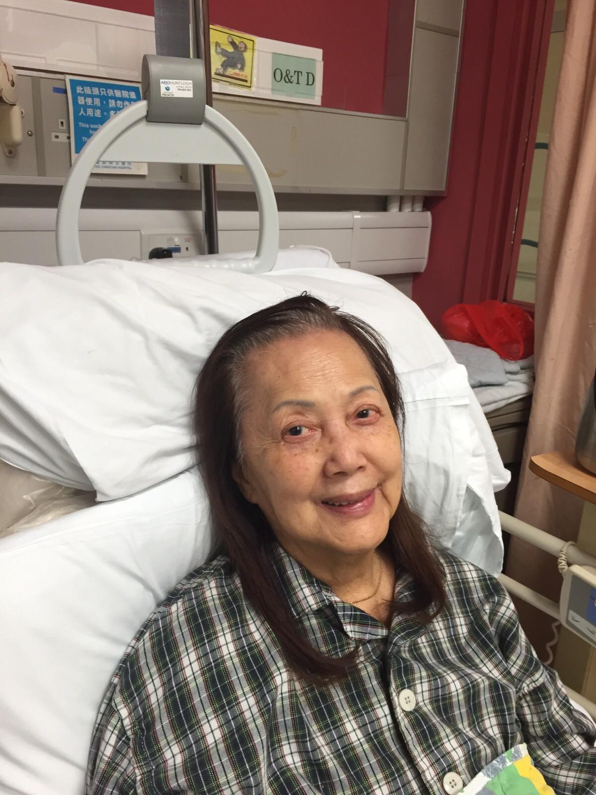 夏萍曾趺倒入院。(資料圖片)