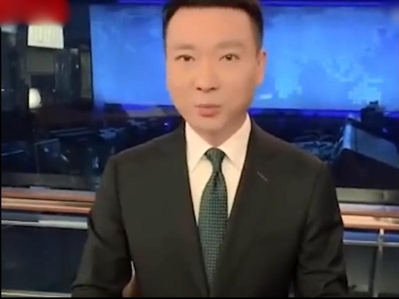 央視新聞播音部主任康輝送國泰一句網絡俗語「不作不死」,迅速登上微博熱搜榜。 影片截圖