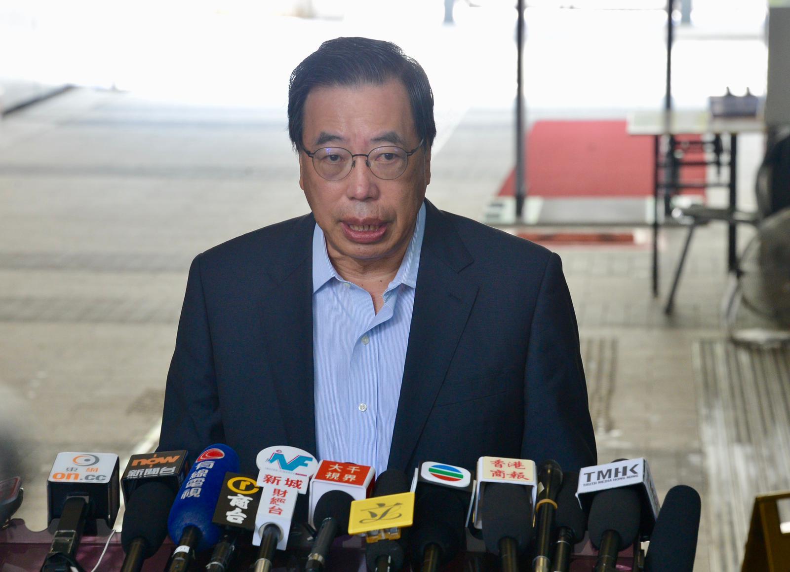 梁君彥否認是將立法會變成堡壘。