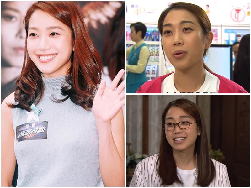 姜麗文於劇集《愛回家》一人分飾兩角,演一對孖生的菲律賓外傭。網圖