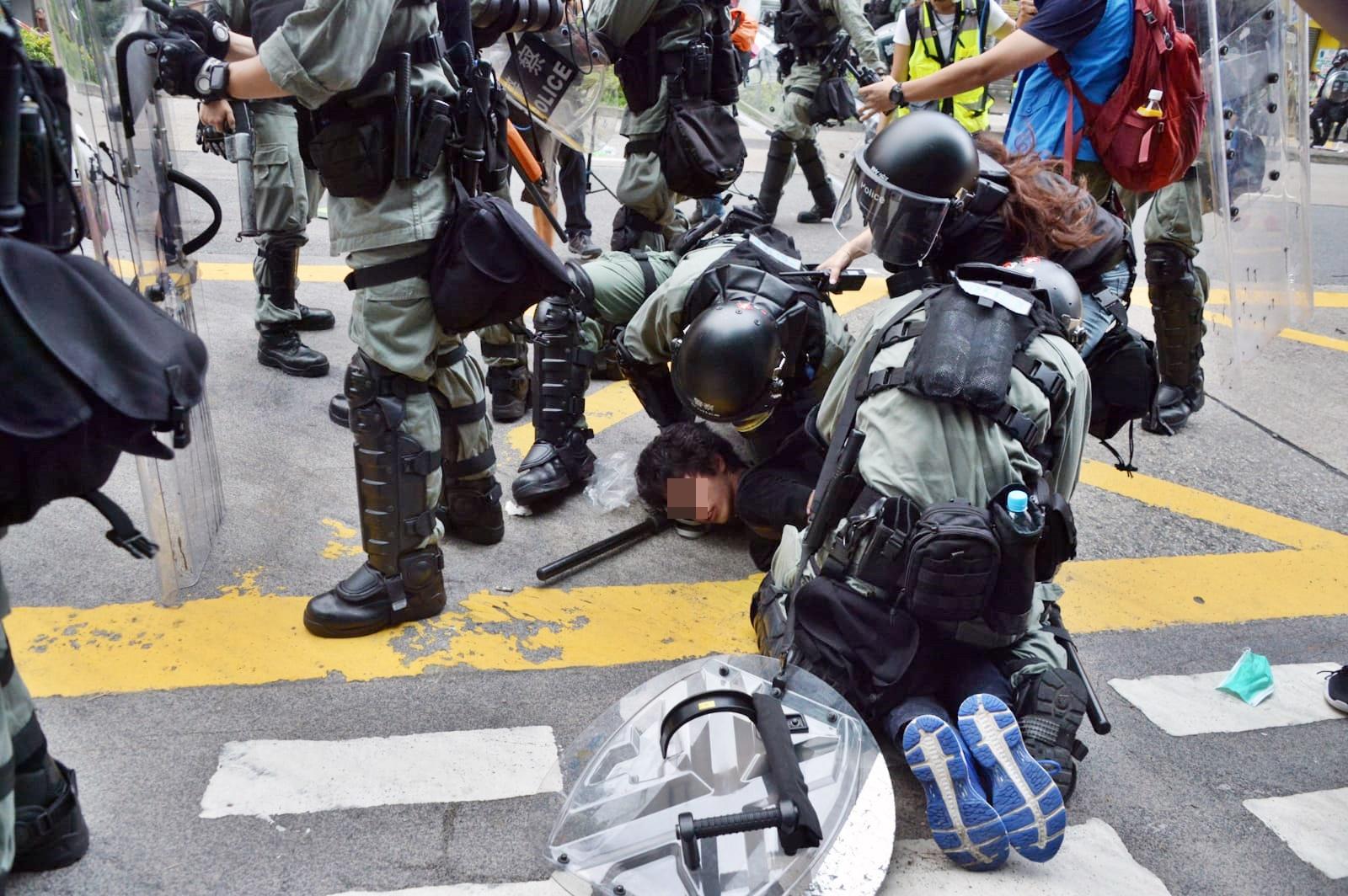 警方拘捕多人。資料圖片