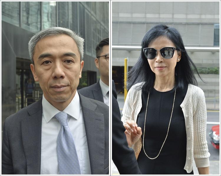 馮永業(左)被控身為公職人員收受陳婉玉(右)提供的51萬元。資料圖片