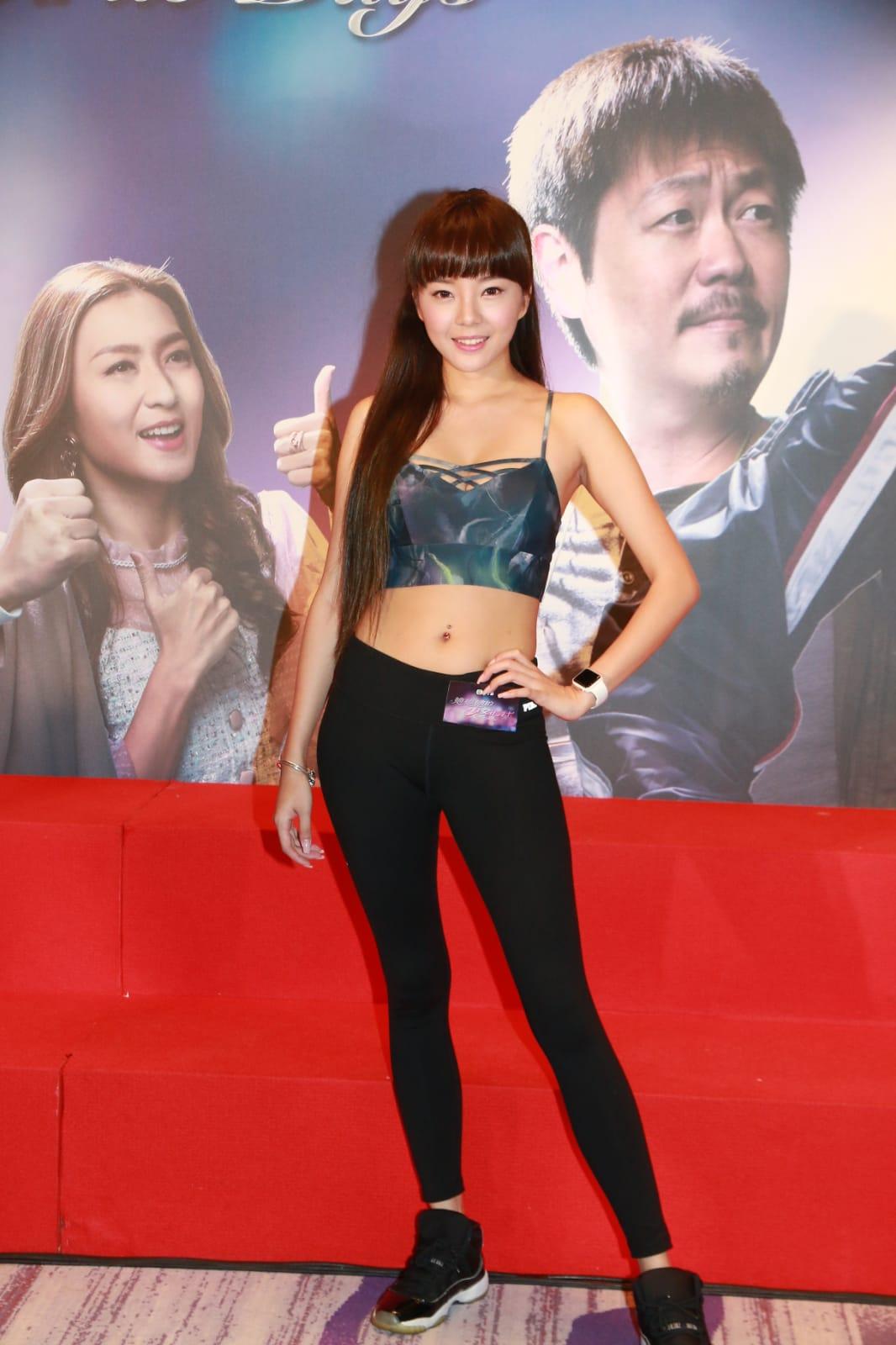 余思霆為新劇《她她她的少女時代》宣傳。