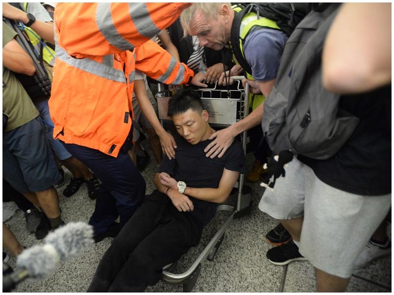 警方指示威者行私刑暫未屬於恐怖主義。資料圖片