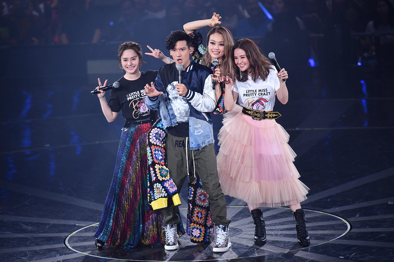 容祖兒演唱會第九場請來了Twins及關智斌擔任嘉賓。