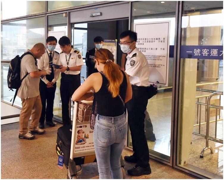 機管局提醒旅客需於航班起飛前至少3小時到達機場。