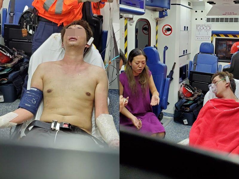 兩人受傷多人疏散。