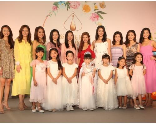 【港姐】10強佳麗與小佳麗宣傳 積極修身備戰決賽