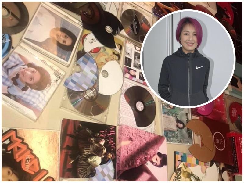千嬅歌迷怒碎珍藏。網民M Ching CKC/資料圖片