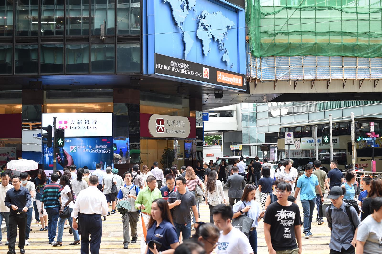 總商會表示,中美貿易爭端和本地示威活動已開始影響經濟。