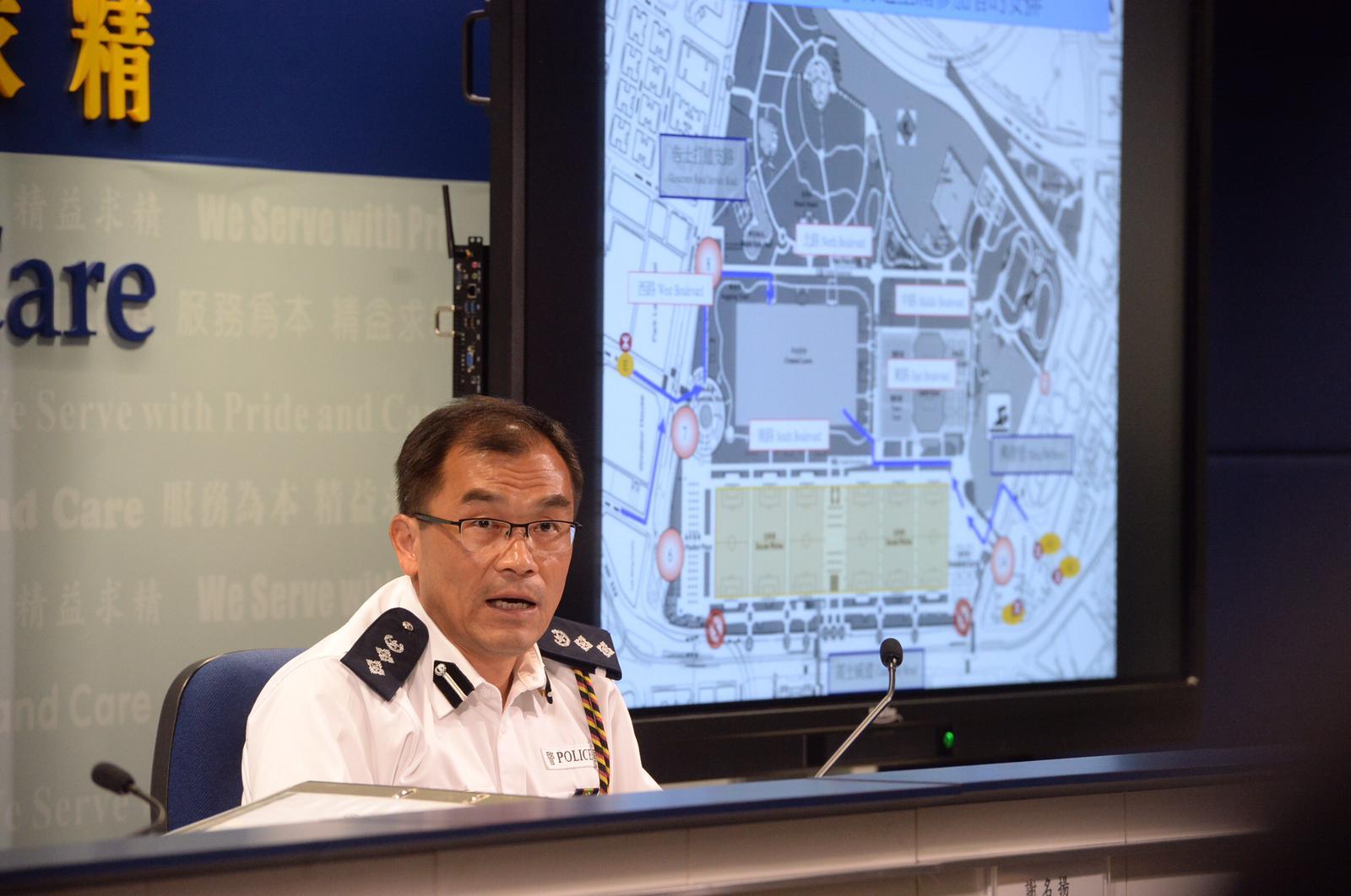 中區警區指揮官謝名揚。