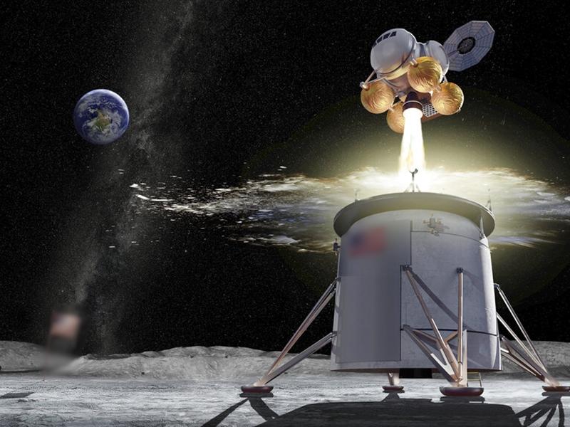 美國已將其重返月球的計劃命名為「阿耳忒彌斯」,計劃在2024年前將美國太空人送上月球。 AP