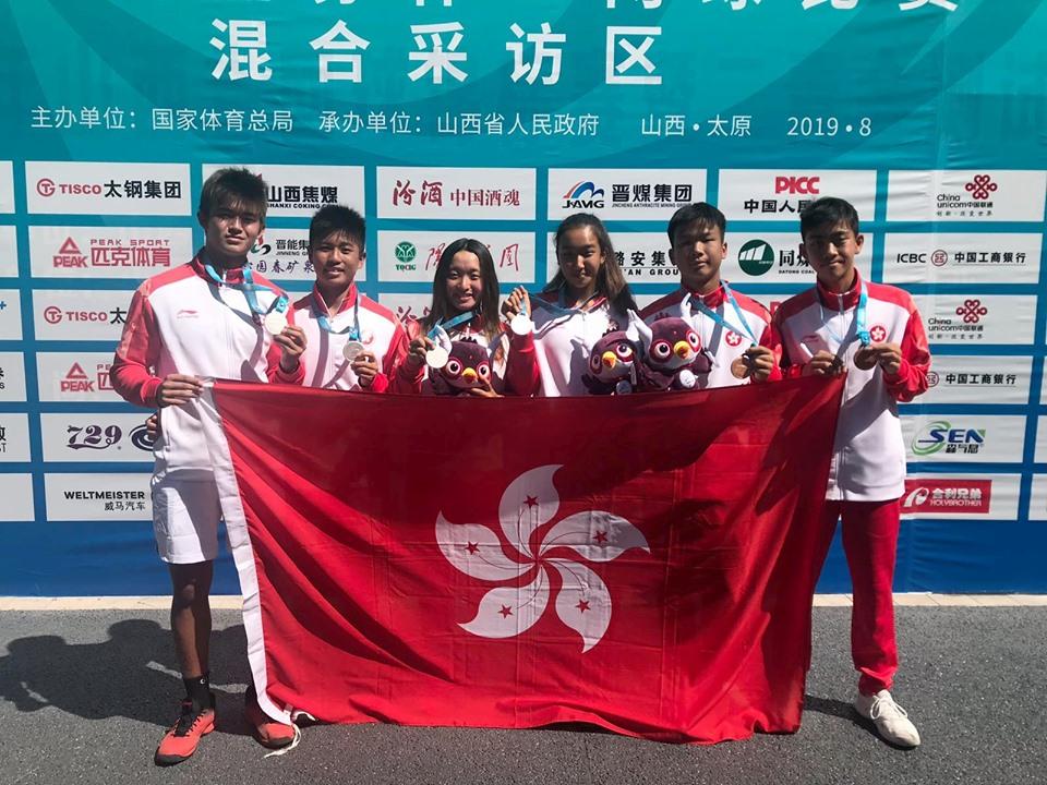 港網以一金兩銀兩銅佳績收官。相片由香港網球總會提供