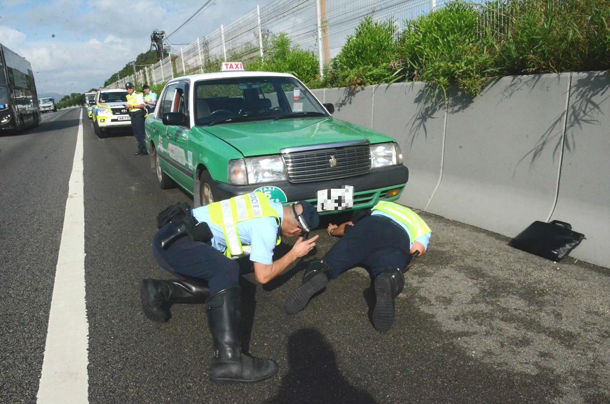 警員在場調查。