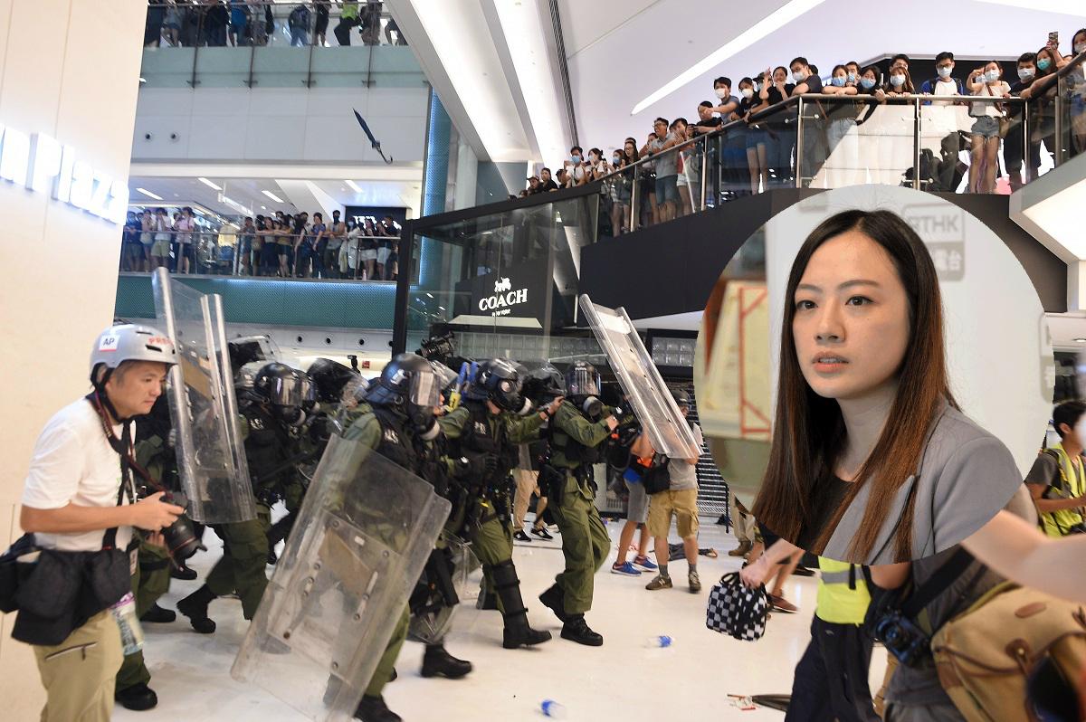 吳思諾(小圖)指出,法例只容許警方在「須予逮捕的人」已進入或身處於私人地方下要求進入。資料圖片
