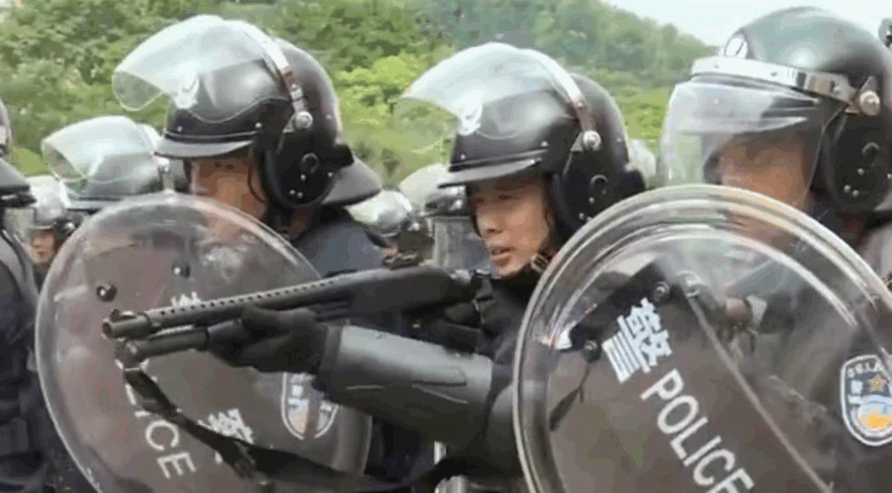 深圳再舉行大練兵。網上圖片