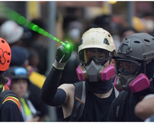 【逃犯條例】警方譴責示威者破壞社會安寧