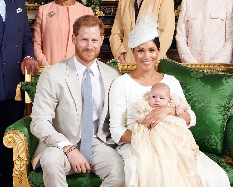 哈里王子和梅根的愛情結晶阿奇已3個月大了。