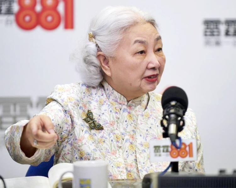 梁愛詩指香港的示威情況十分接近顛覆。