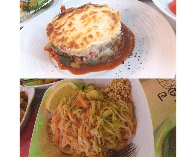 Moussaka是希臘名菜,即是芝士肉醬焗茄子薯仔。