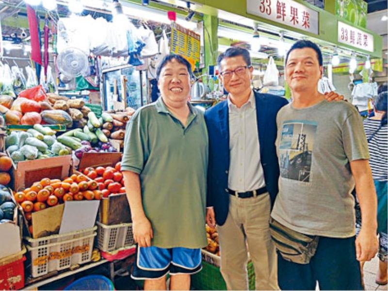 陳茂波表示,有關措施是針對現時的經濟環境和未來困難。 網上圖片