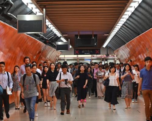 【逃犯條例】有車長自發罷工 港鐵:列車服務大致正常
