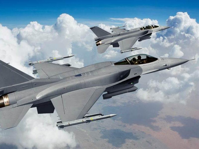 特朗普證實,已經批准售台F-16戰機。(網圖)