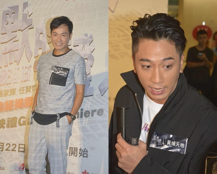 郭晉安和吳卓羲都讚導演專業。