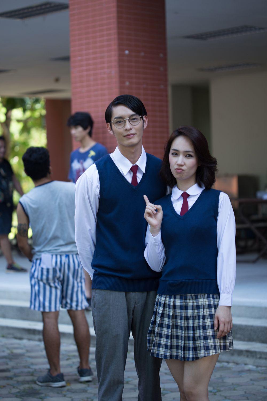 曹佑寧受拍攝現場氣氛影響,小薰更是睇劇本已驚驚。