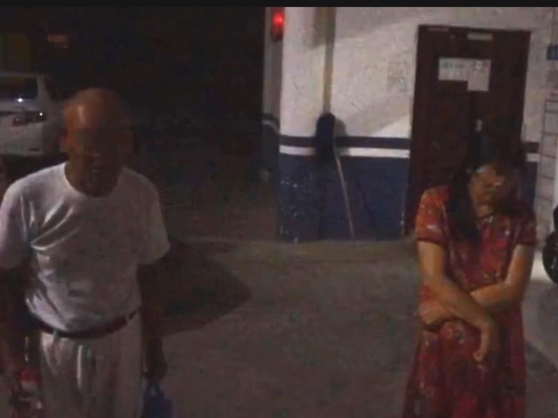一名七旬老人報警舉報嫖娼價格上漲,隨後警方循線追踪,搗破賣淫嫖娼窩點。影片截圖