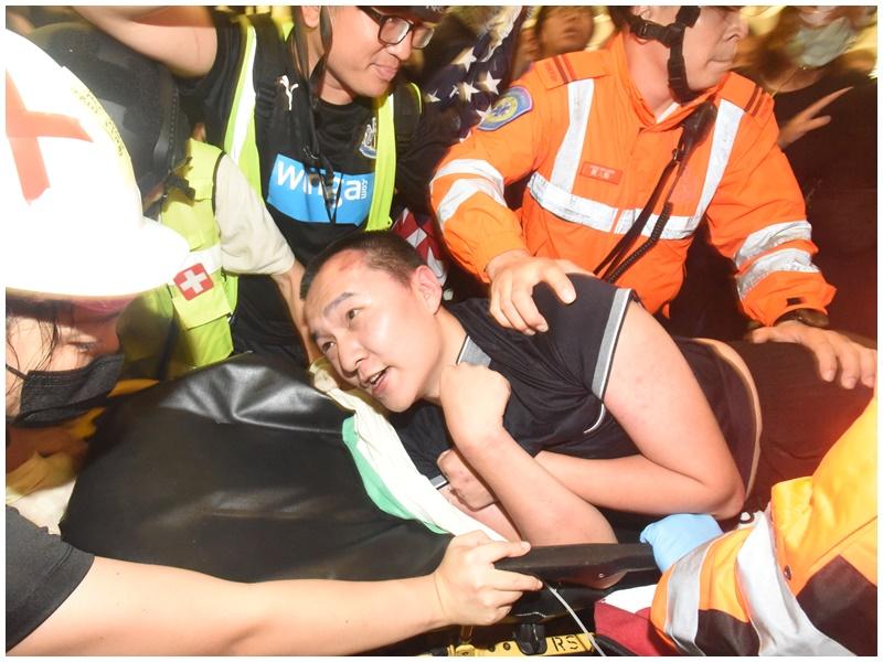 付國豪(見圖)機場遇襲案,警再拘一名23歲涉案女子。資料圖片