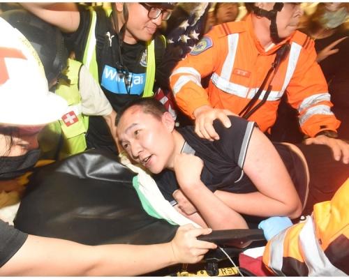 《環時》記者付國豪機場遇襲案 警拘「佔旺女村長」