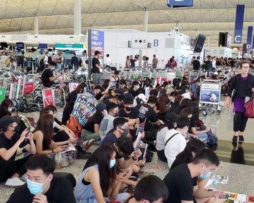 【逃犯條例】民陣831遊行針對人大決定 網民發周六「和你塞」機場