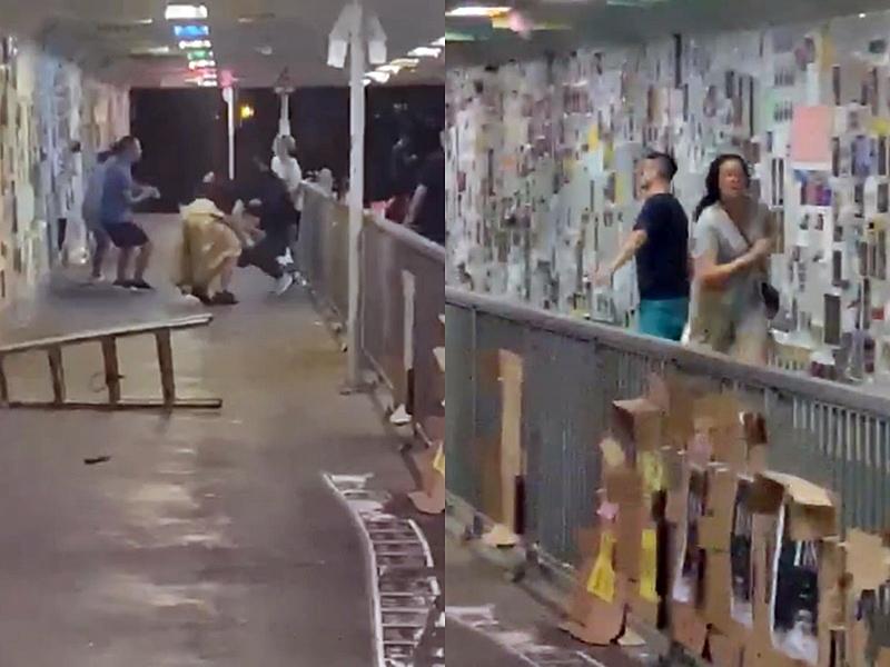 目擊者拍下影片。