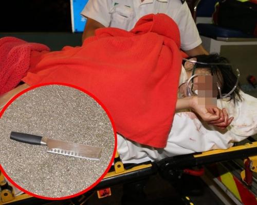 【將軍澳斬人】26歲女傷者命危留醫ICU 重案組跟進