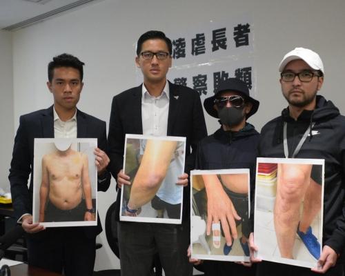 2軍裝警察涉虐打62歲老翁 上衣塞口鼻強行除褲重擊下體