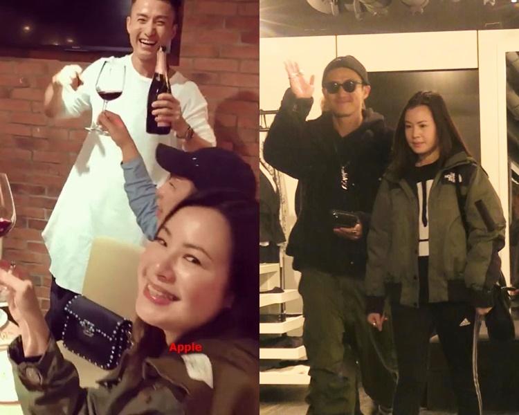陳山聰將娶女友Apple為妻。(資料圖片)