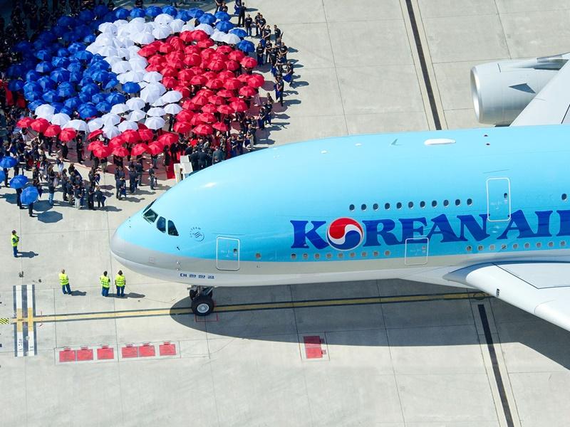 大韓航空停飛日韓航線或減班。網上圖片